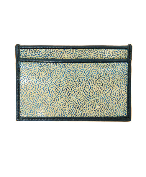 Green Stingray Business Cardholder