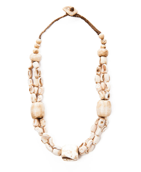 Bone Feray Bead Necklace