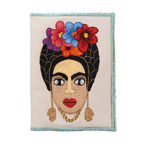 Frida Kahlo Cotton Passport Holder