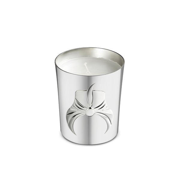 Silver Plated Rose of Topkapi Candle