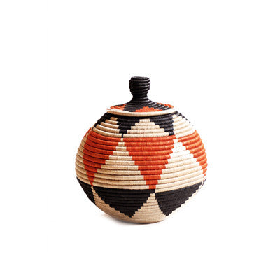 Extra Large Lidded Floor Basket