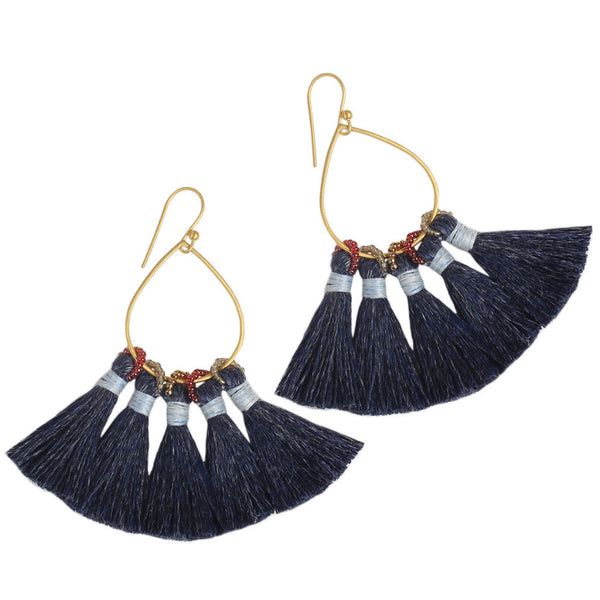 Denim Jolie Earrings