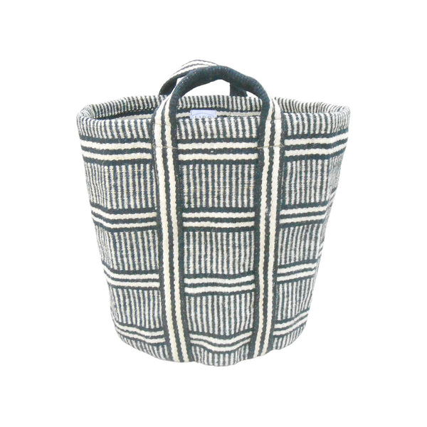 Multi Stripes Jute Bag