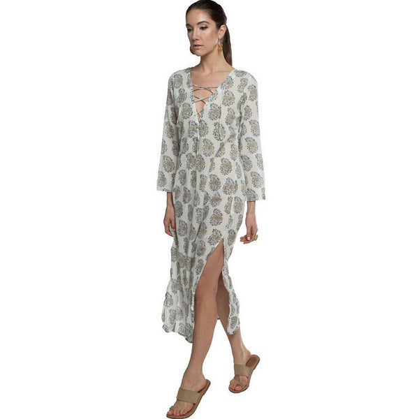 Ash Block Criss Cross Lounger Dress