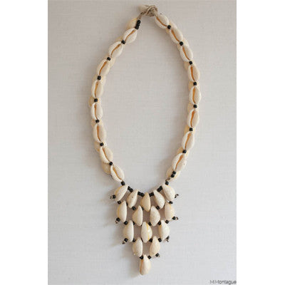 Small African Tribal Shell Necklace