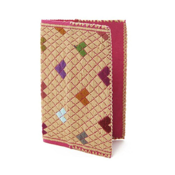 Pink Hearts Passport Cover