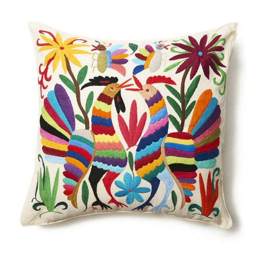 Multi Otomi Pillow Cover
