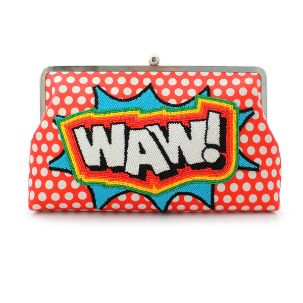 Pop Art Cotton Clutch