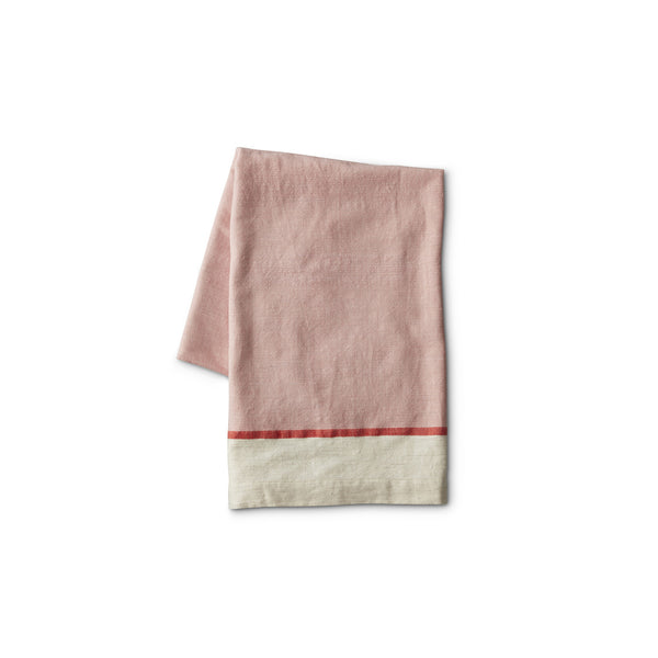 Light Pink Cotton Beach Towel