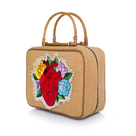 Corazon Missy Straw Bag