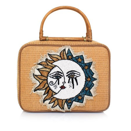 Sun to Moon Missy Straw Bag