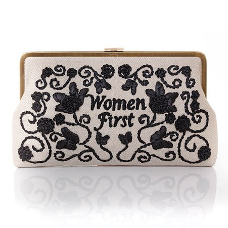 'Women First' Large Clutch