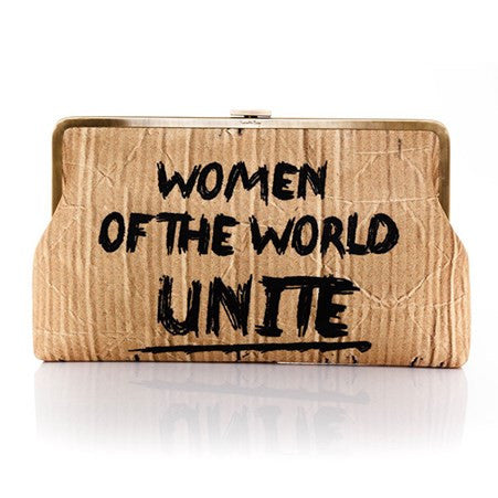 'Women Unite' Large Clutch
