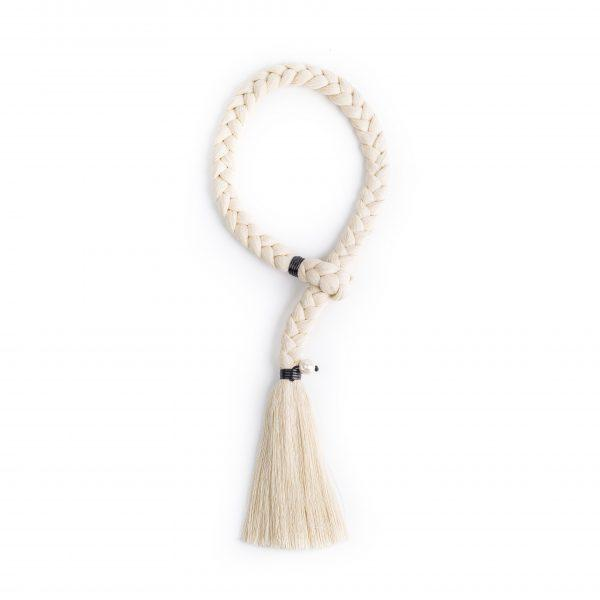 Trenza de Bruja Raw Cotton & Pearl Necklace