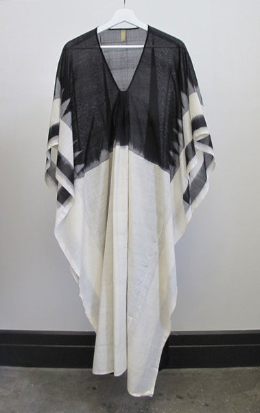 TWO, Ikat Caftan with White Front