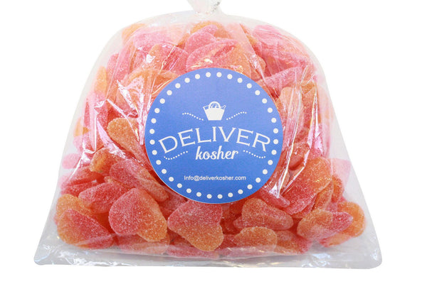 Bulk Candy - Peach Hearts
