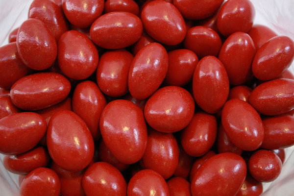 Bulk Candy - Red Chocolate Almonds