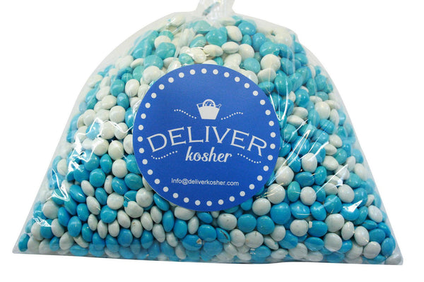 Bulk Candy - White & Blue Chocolate Lentils