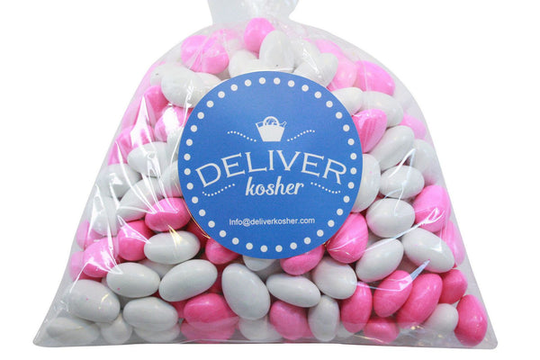 Bulk Candy - Pink-White Chocolate Almonds