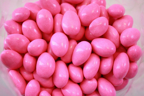Bulk Candy - Pink Chocolate Almonds