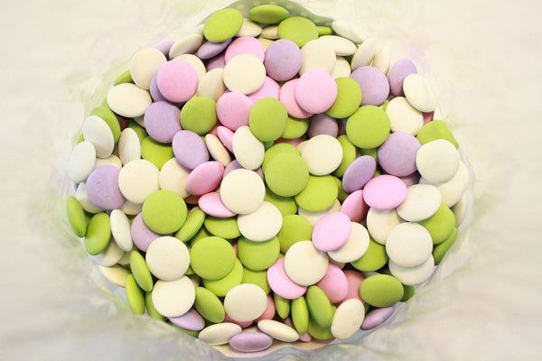 Bulk Candy - Assorted Pastel Mint Chocolate Lentils