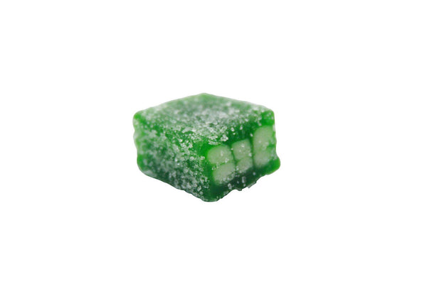 Bulk Candy - Sour Green Licorice Cubes