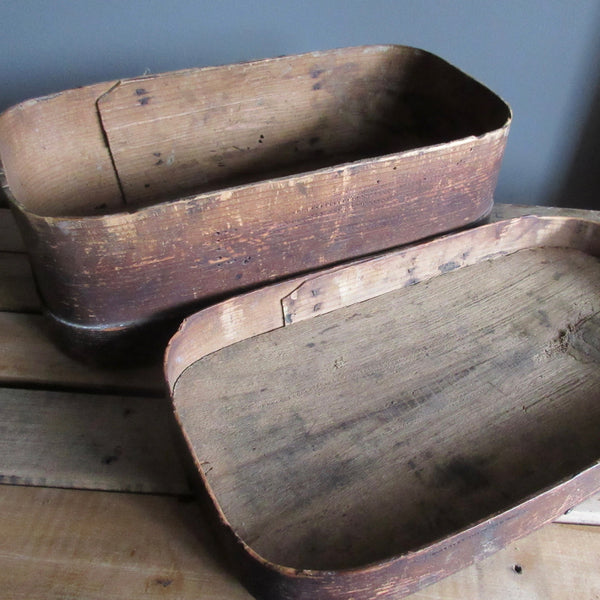 Pantry Box Oval Primitive