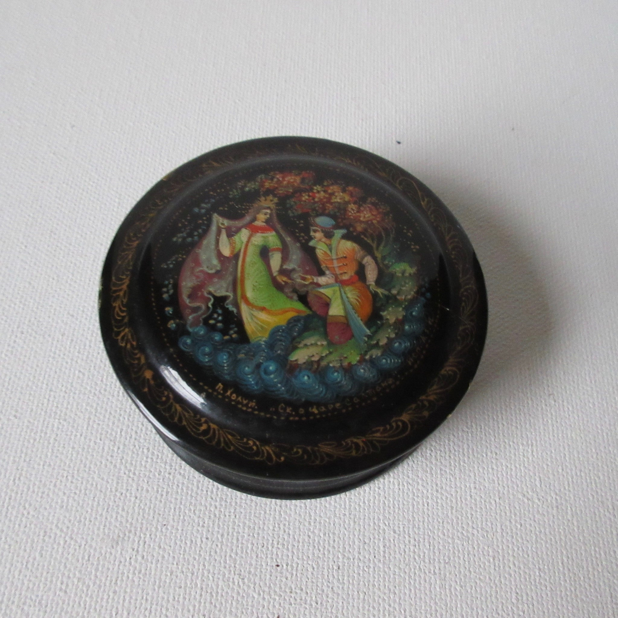 Russian miniature lacquer