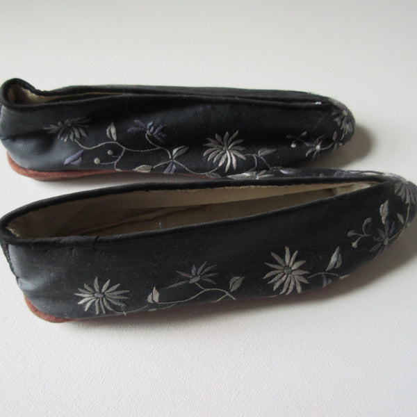 Lotus Shoes Antique Chinese
