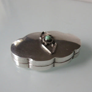 Sterling Silver Miniature Snuff Box