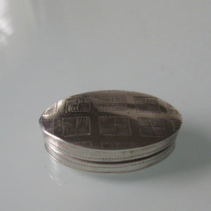 Sterling Silver Miniature Pill Box