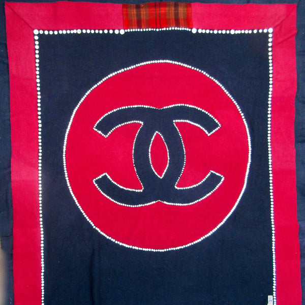 Chanel Wool Blanket