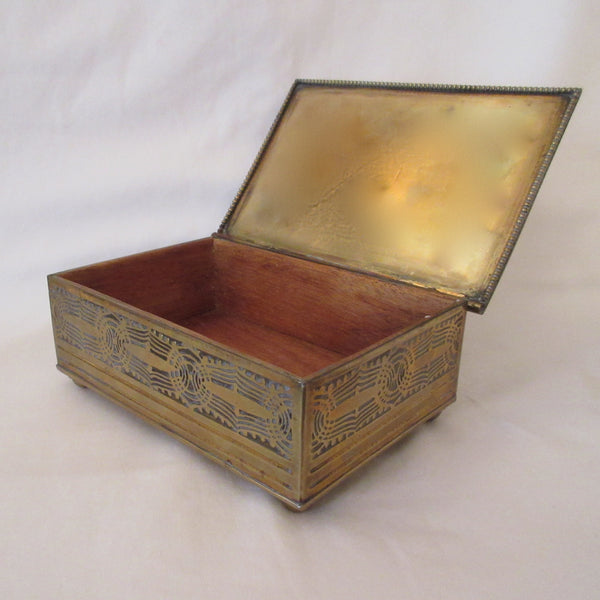 Arts and Crafts Brass Box