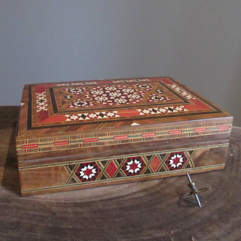 Inlaid Wooden Box Hand Made