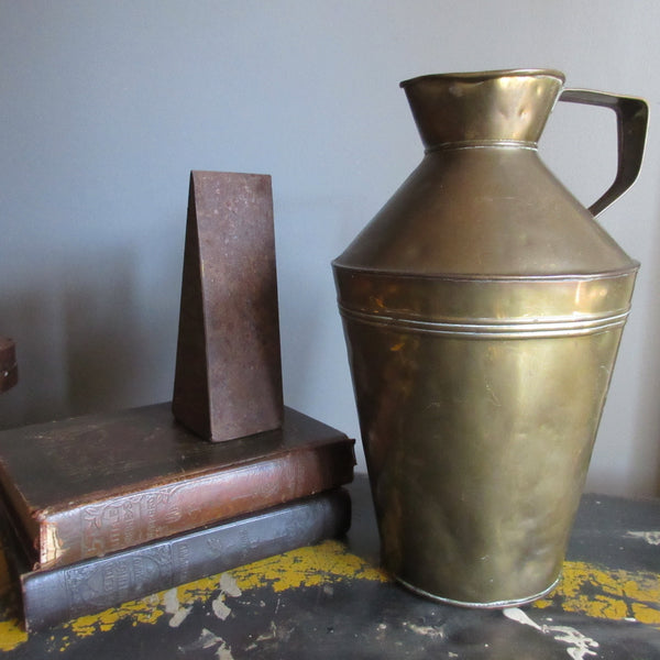 Victorian Brass Water Jug