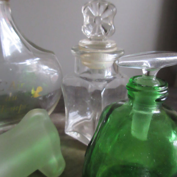 Glass Bottles Extracts