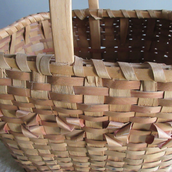 Native gathering basket