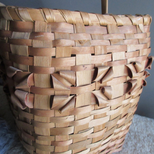 basket curly splints