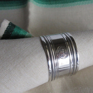 British Sterling Napkin Ring Original Box