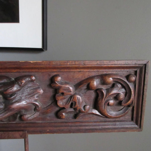 French carving antique