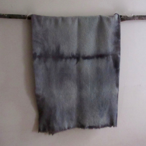 Vintage Over Dyed Wool Blanket Green/Gray
