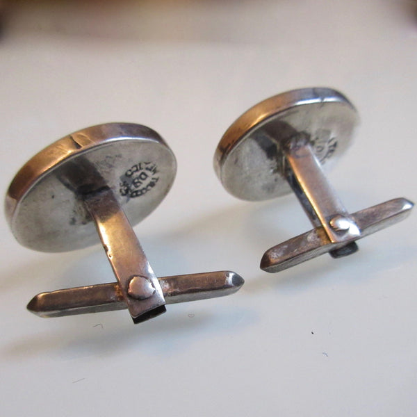 Vintage Abalone Cuff links