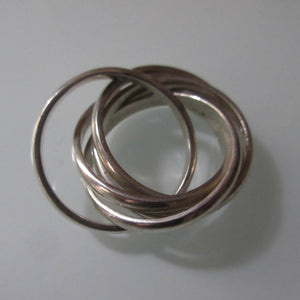Russian Wedding Ring 5 Bands