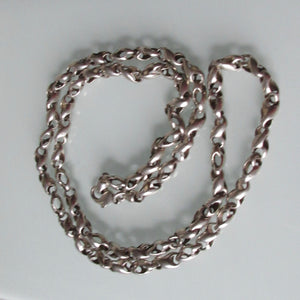 Vintage Sterling silver Chain Interesting Link