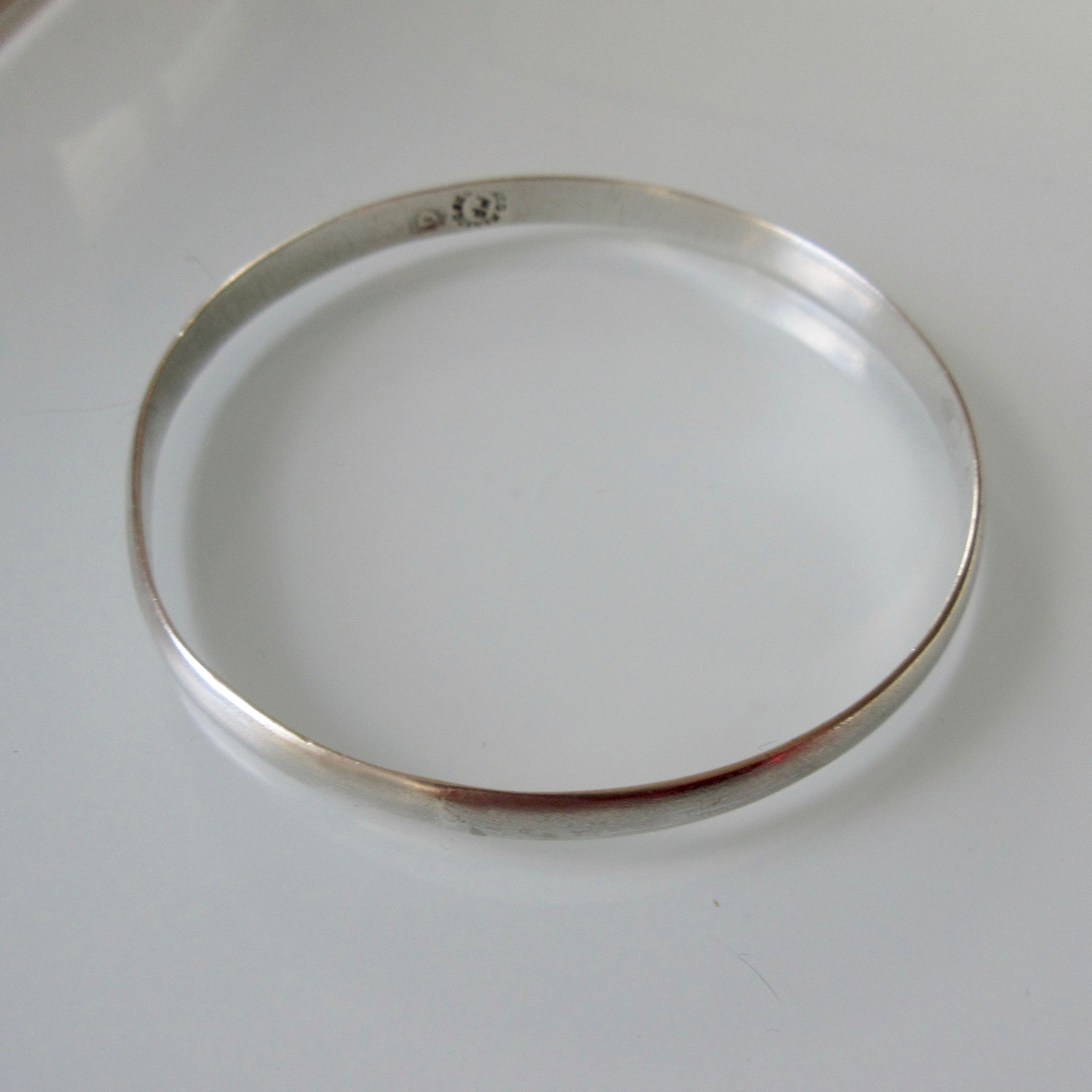 Sterling Silver Mexican Bangle Maker MR