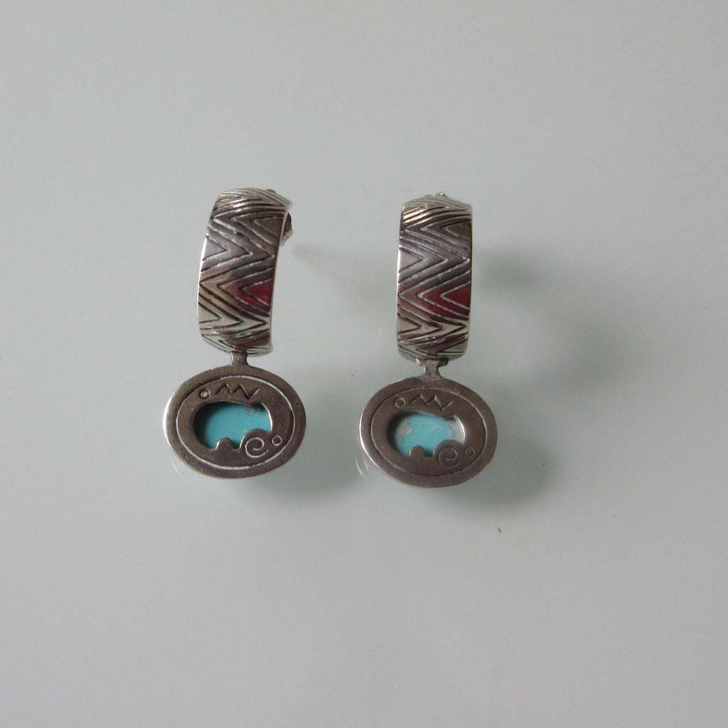 Jewellery & Watches Frugal Turquoise And Silver Necklace And Earrings Sets