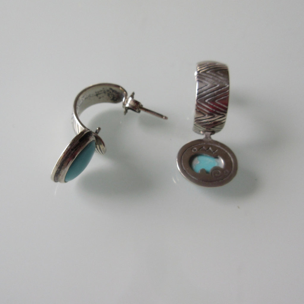 Jewellery & Watches Sets Frugal Turquoise And Silver Necklace And Earrings