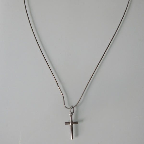 Child's Baptism Cross Pendant