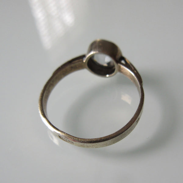 russian sterling silver ring