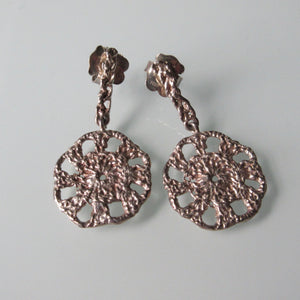 Tous Silver Crochet Earrings